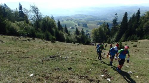 The climb after Casa Folea
